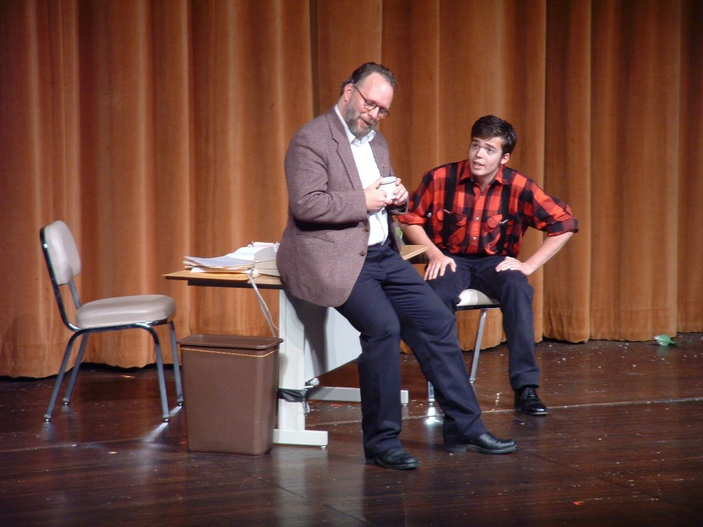 "Ryan Buen performing in Andy Day's ""Equal Opportunity"" with TBA Theatre in 2007."